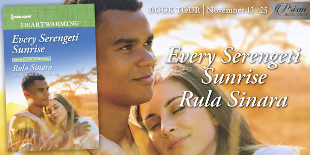 We're launching the Book Tour for EVERY SERENGETI SUNRISE by RULA SINARA!