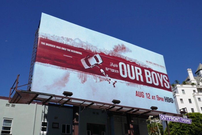 Our Boys series premiere billboard