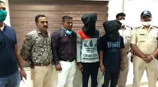 पुलिस को मिली बड़ी सफलता चोरी की वारदात करने वाले तीन आरोपियों को किया गिरफ्तार
