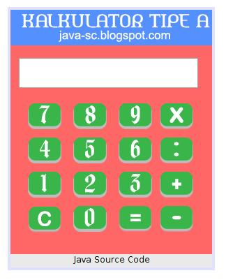 Gambar 1 - Membuat Kalkulator Sederhana Menggunakan Java Netbeans