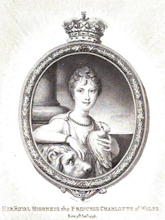 Princess Charlotte  from La Belle Assemblée (1807)