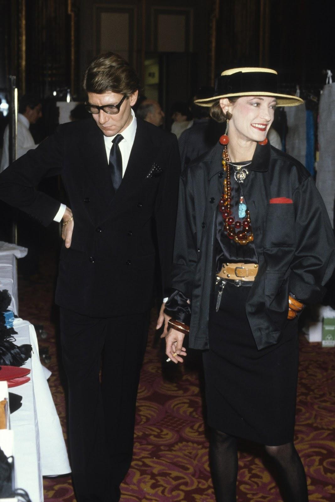 In Fashion | Style Icon: Loulou de la Falaise