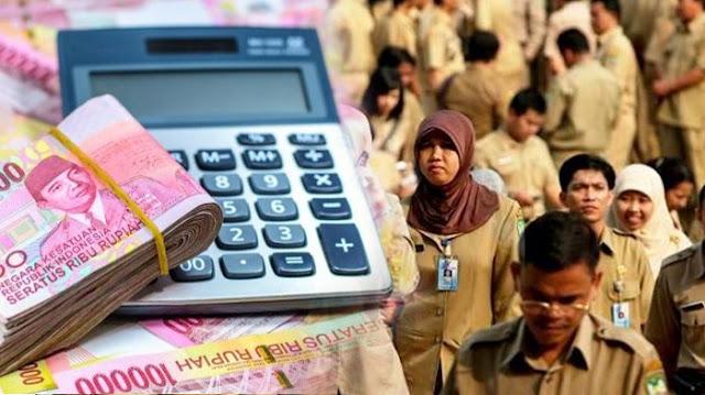 Gaji 13 PNS, TNI, Polri dan Pensiun Cair November