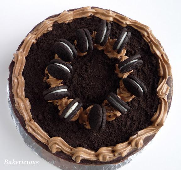 Bakericious: Oreo Chocolate Cheesecake