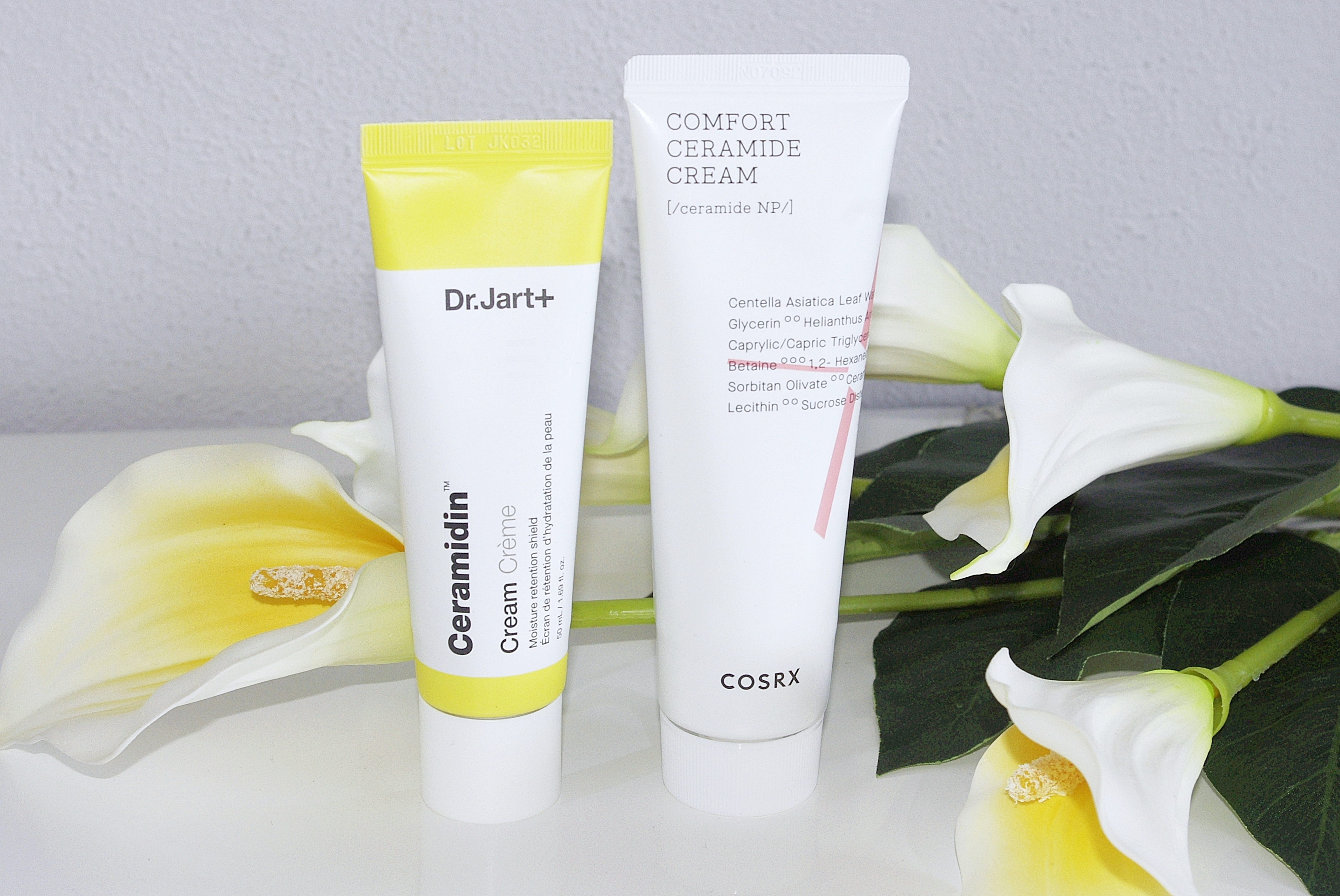 Dr.Jart+Ceramidin Cream Cosrx Balancium Comfort Ceramide Cream porównanie