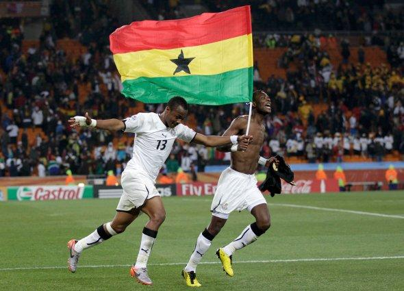 Mon grenier maillots ghana 2010 - Finale coupe du monde 2010 ...