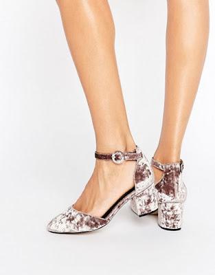 imagenes de Zapatos de Tacon bajo para Fiesta