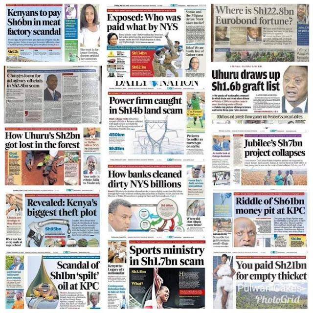 IMF, Kenya has corrupt leaders, kenyans cry on IMF photo