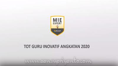 TOT Guru Inovatif Angkatan 2020 #mieexpert #microsoft #mietrainer #ciptagadhingartha #totguruinovatif2020 #GTP