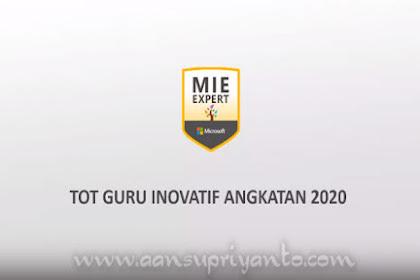 Training of Trainer Guru Inovatif Angkatan 2020