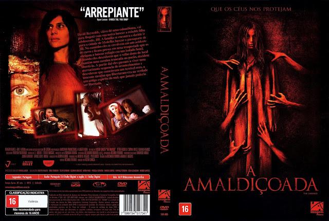 Capa DVD A Amaldiçoada