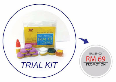 TRIAL KIT BEE VENOM SECRETLEAF