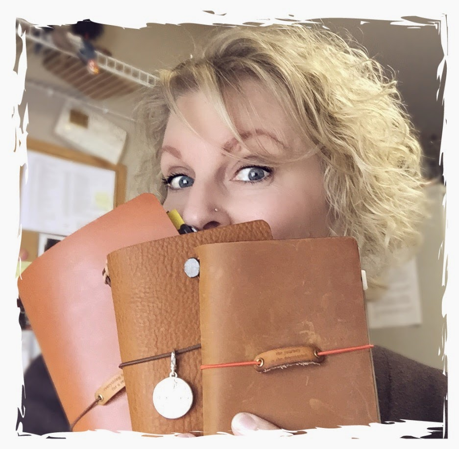 My Travellers Notebook - Yvonne