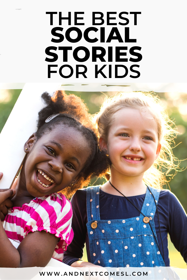 Social stories - tons of printable social stories for kids!