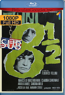Fellini 8½ (1963) [1080p BRrip] [Italiano] [LaPipiotaHD]