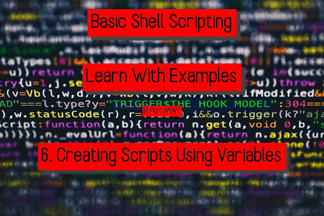 bash shell scripting learn with examples