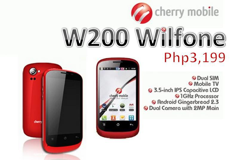 Cherry Mobile W200 Wilfone