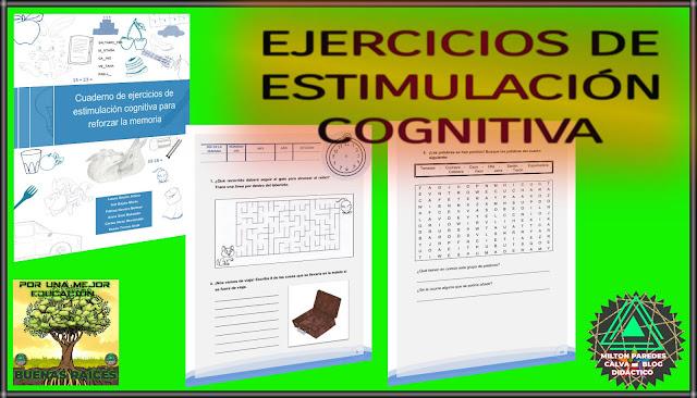 EJERCICIOS DE ESTIMULACIÓN COGNITIVA PARA LA MEMORIA