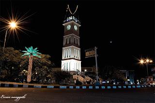 Wisata Jam Gadang di Bukittinggi Sumatera Barat