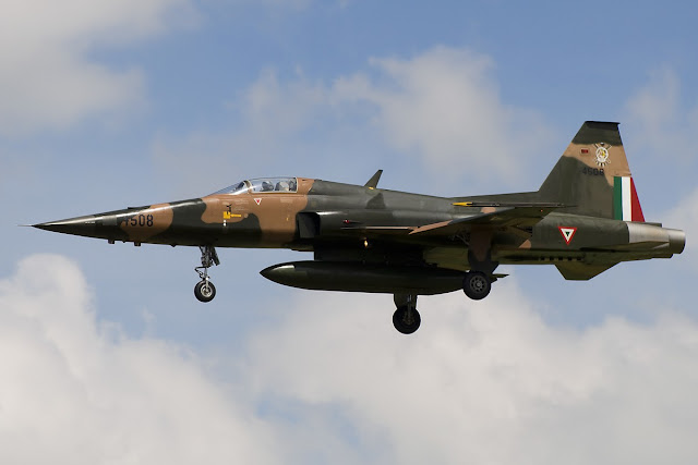 F-5 Northrop of Mexican Air Force