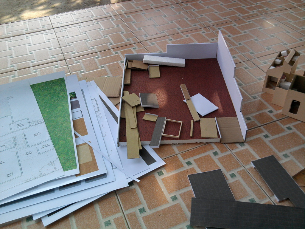 New Vision For Architecture: Maket Rumah Tropis Modern