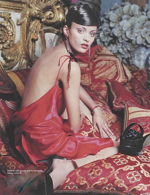 Robe de cocktail dos nu Fanny Liautard