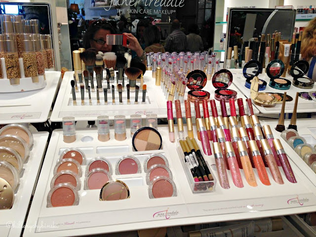 The Jane Iredale Counter at Soft Surroundings - a Beauty Maven's palette!