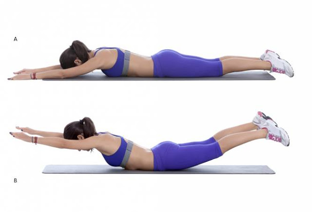 10 Exercises To Relieve The Spine Pains