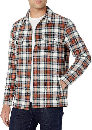 Best Men's Flannel Shirts Jackets in UK