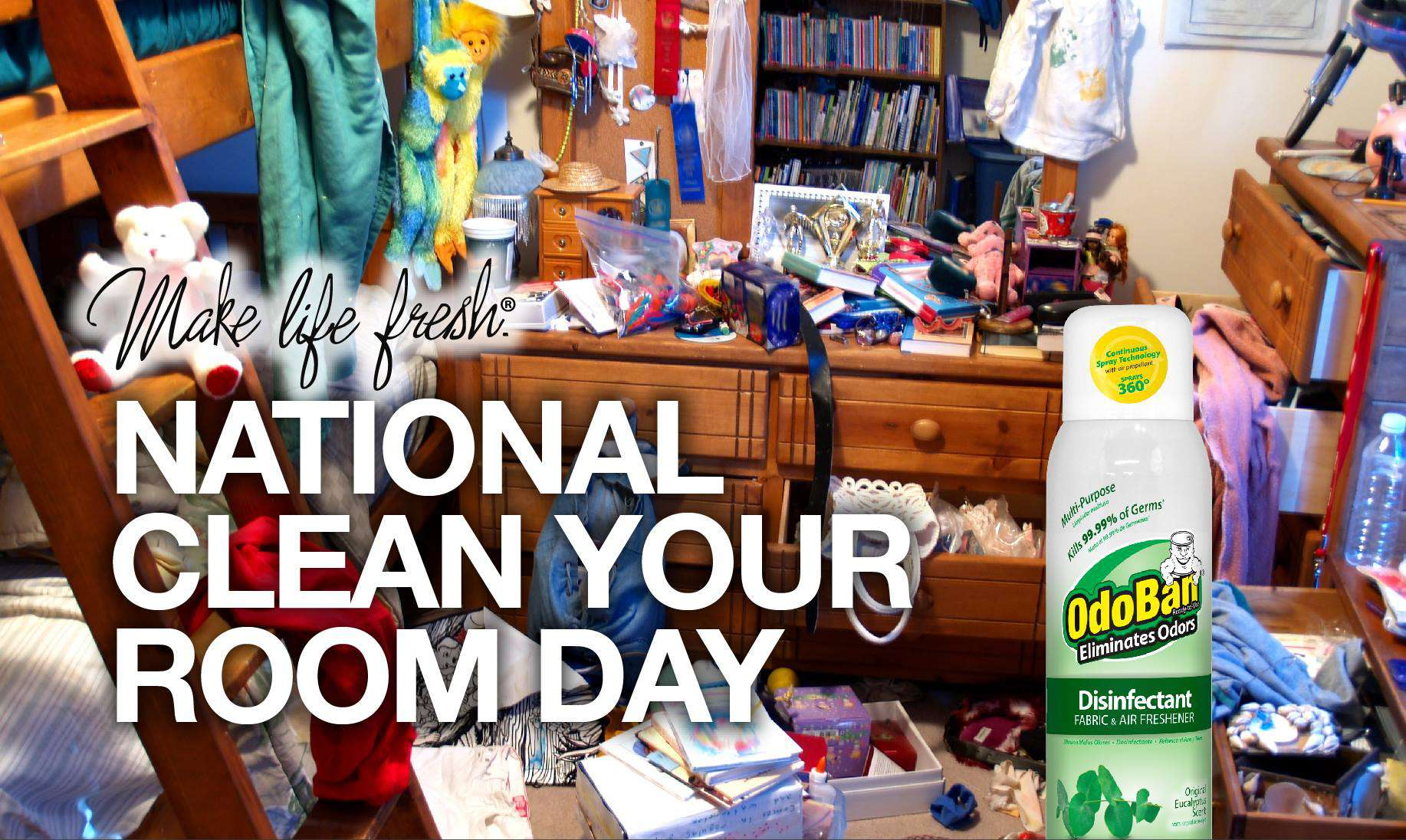 National Clean Your Room Day Wishes Pics