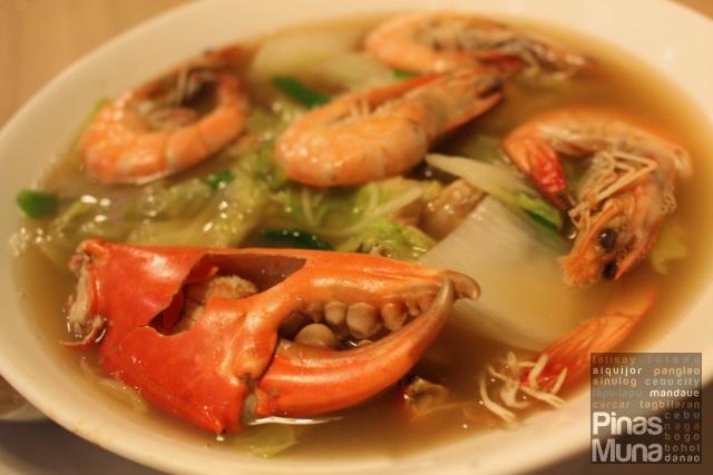 Sutukil at Isla Sugbu Seafood City Cebu