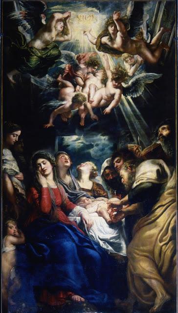 La circuncisión de Jesús, por Rubens.