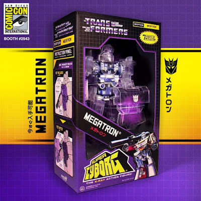 San Diego Comic-Con 2019 Exclusive Transformers Super Cyborg Megatron X-Ray Edition Action Figure by Super7