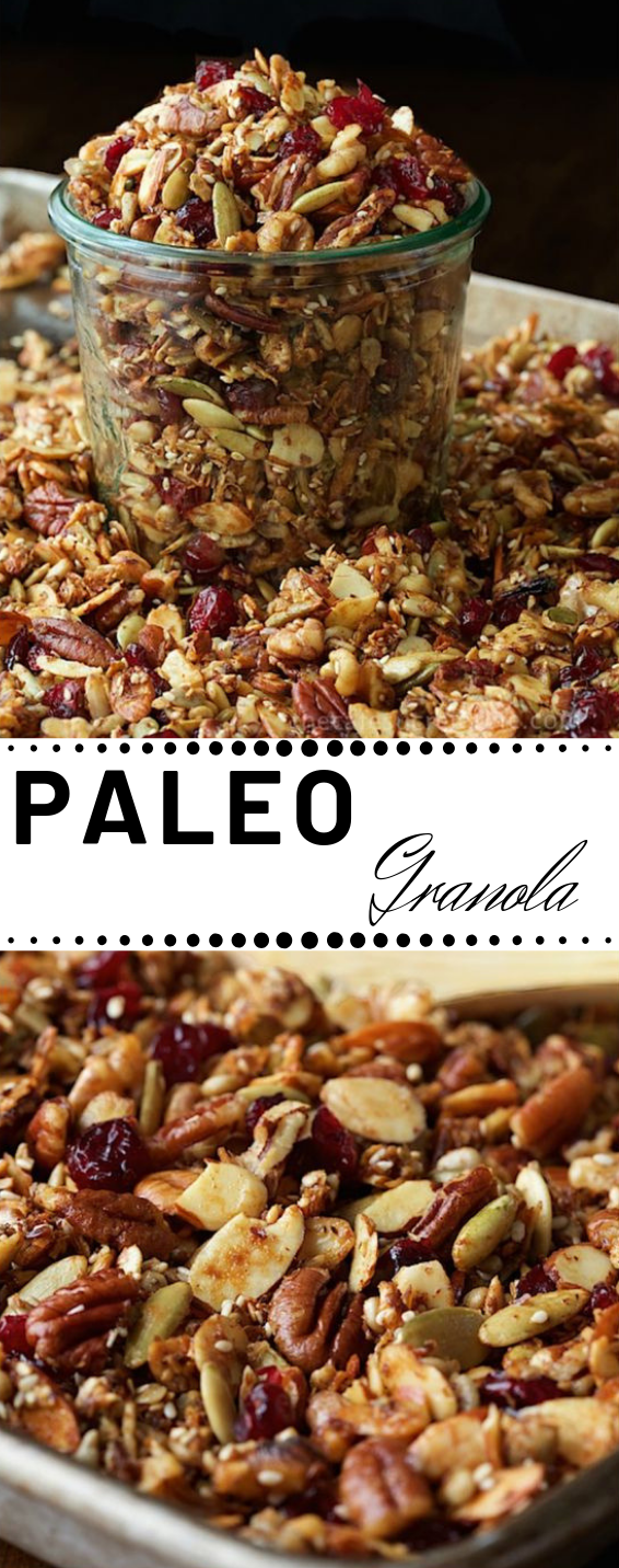Paleo Granola #paleo #diet #healthydiet #whole30 #granola