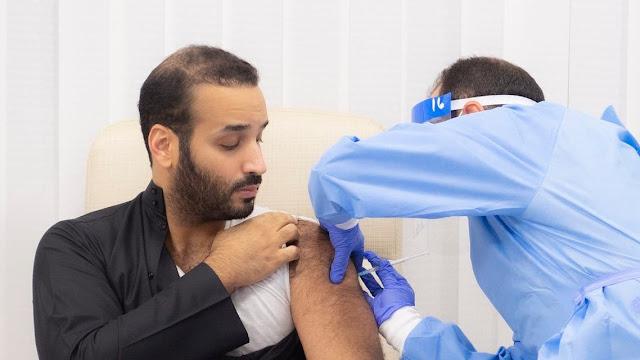 Saudi Crown Prince Mohammed Bin Salman takes first COVID-19 vaccine in kingdom