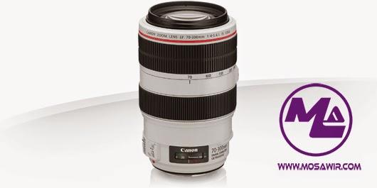 عدسة كانون: EF 70-300mm f/4-5.6L IS USM