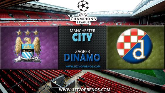 Liga prvaka: Manchester City - Dinamo Zagreb UŽIVO PRIJENOS online