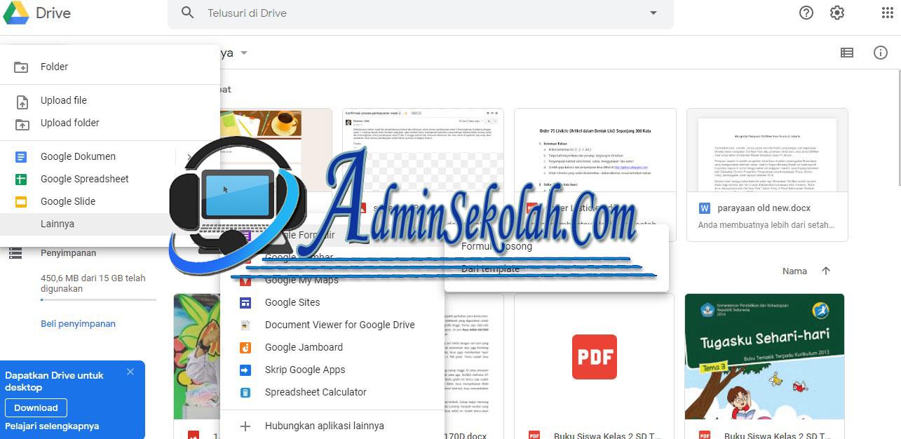 Cara Membuat Soal Ujian Online Dengan Google Form Admin Sekolah