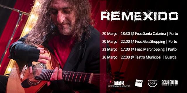 REMEXIDO - João Lima, Carlos Ribeiro e João Dacosta, contam inúmeras travessias pelo mundo da música Portuguesa.