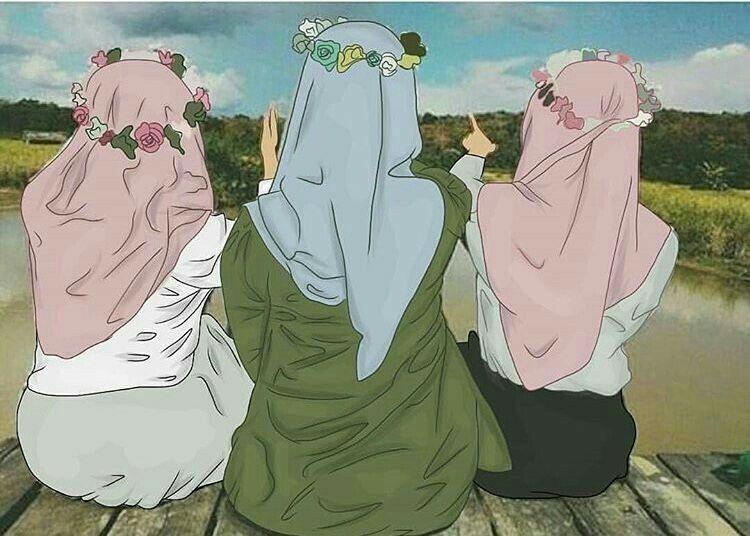 Kartun Sahabat Muslimah Terbaru Blog Elysetiawan