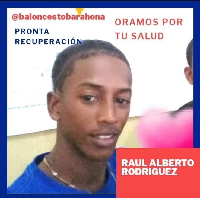Juagador de Baloncesto de Barahona Raúl Alberto Rodríguez sufre accidente en Pedernales