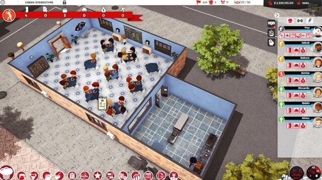 Chef A Restaurant Tycoon Game Gameplay Screenshot