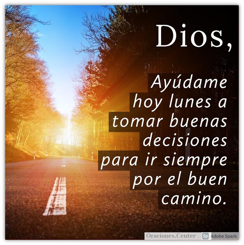 Oración del Día de Hoy Lunes para ir por el Buen Camino