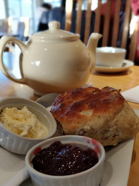 Afternoon tea, Cream Tea