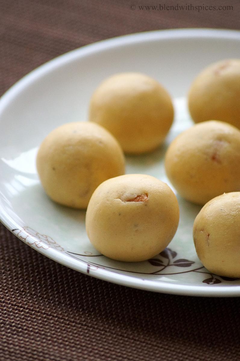 roasted gram coconut laddu, how to make roasted gram laddu