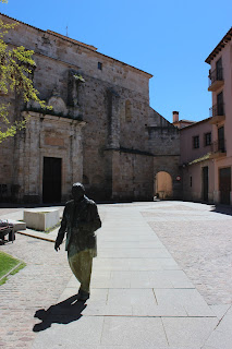Escultura de Herminio Ramos en Zamora
