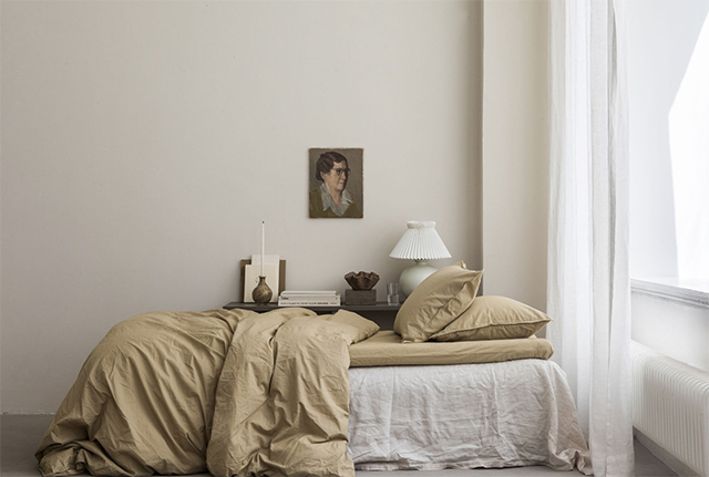Gorgeous New Bed Linen Colours from Swedish Brand Midnatt