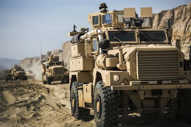 Ενίσχυση με 1100 θωρακισμένα Cougar και HMMWV από τις ΗΠΑ για τον Έβρο