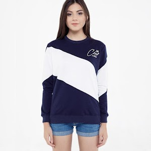 Ryusei Swt Suzu Sweater - Navy