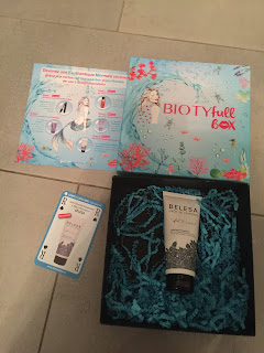 Soin douche Essentiel de Belesa contenu dans la Biotyfull box du mois d'octobre 2018